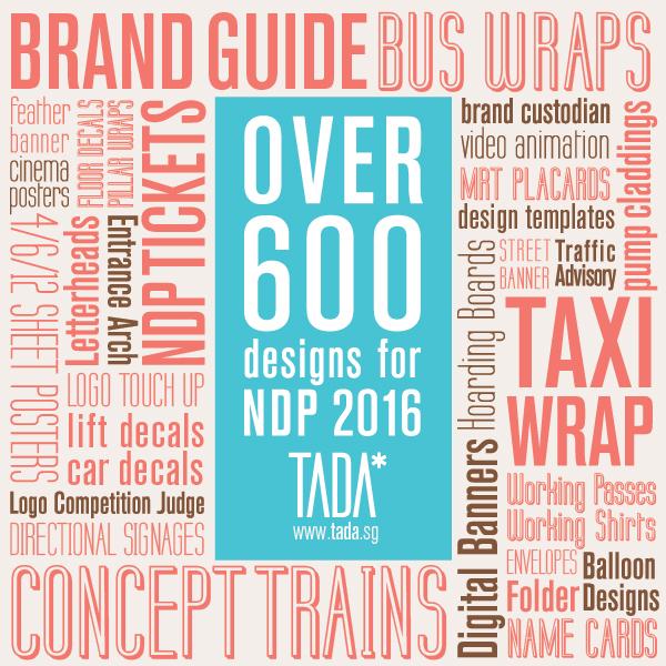 Tada ndp portfolio design 01 for Design agency singapore